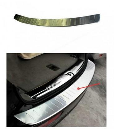 Audi Q5 Arka Tampon Üstü Koruyucu Plaka Paslanmaz Çelik 2009-2017