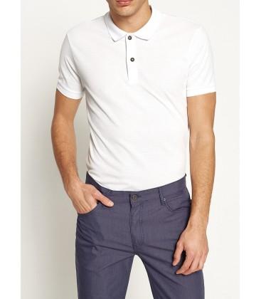 Koton Polo Yaka T-Shirt Beyaz 7YAM12133LK000