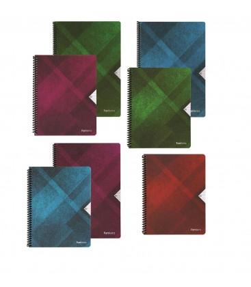 Keskin Color A4 100 Yp. Çizgili PP Fonterra Defter