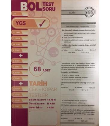 YGS Tarih Çek Kopar Testler Bol Test Soru 68 Adet