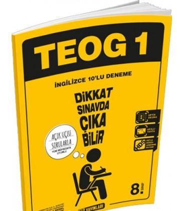 8. Sınıf TEOG 1 İngilizce 10 Deneme Hız Yayınları