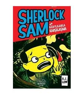 Sherlock Sam ve Uzaylılarla Karşılaşma -  A.J Low - Nemesis Kitap