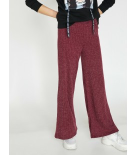 Koton Geniş Paça Kadın Pantolon Mor 9KAK43205QK376