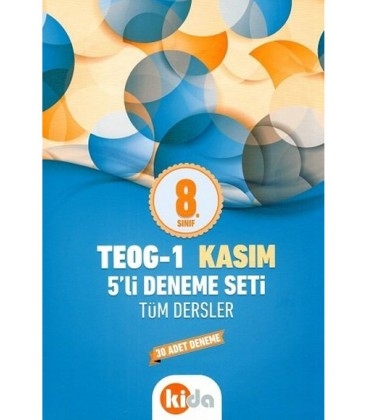 8. Sınıf TEOG 1 Kasım Tüm Dersler 5 Li Deneme Seti