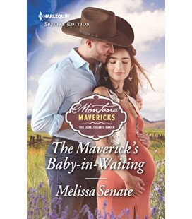 The Maverick's Baby-in-Waiting - by Melissa Senate
