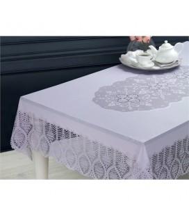 Vinil Dikdörtgen Masa Örtüsü - Taş - 1KMAOR0240104