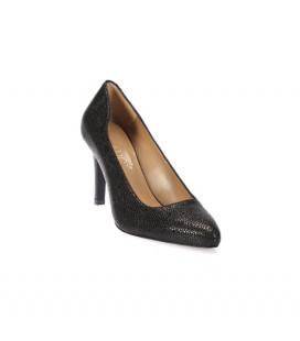 İnci Hakiki Deri Siyah Kadın Ayakkabı 5083