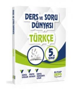 5. Sınıf Türkçe - Ders Ve Soru Dünyası - Kitap Depo Yayınları