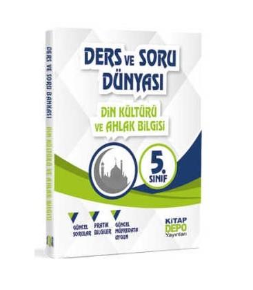 5. Sınıf Din Kültürü ve Ahlak Bilgisi - Ders Ve Soru Dünyası - Kitap Depo Yayınları