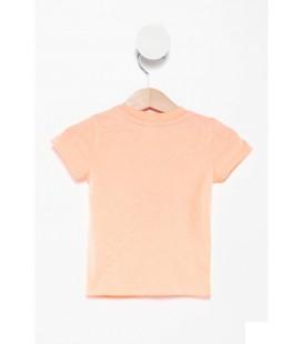 DeFacto Erkek Bebek Yazı Baskılı T-shirt  J6253A2