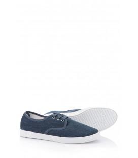 Defacto Kadın Düz Spor Ayakkabı İndigo Spor Ayakkabı G6960AZ