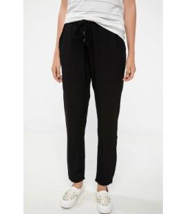 Defacto Rahat Kesim Siyah Pantolon I3707AZ
