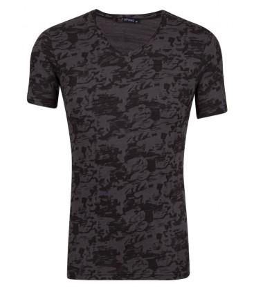 Suvari Slim Fit V Neck Men's T-Shirt TS1013900006S02