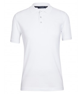 Süvari Beyaz Erkek Polo Yaka Tişört TS1013800037BEY