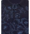 Süvari Lacivert Erkek Polo Yaka Tişört Slim Fit TS1020900015M08