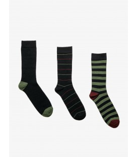 Koton 3'lü Erkek Çorap Lacivert 9KAM82121AA730