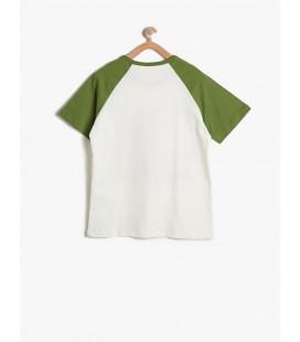 Koton Baskılı T-Shirt Beyaz 7YKB16929OK001