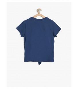 Koton Kids Kız Çocuk Tişört Lacivert 7YKG17317OK740
