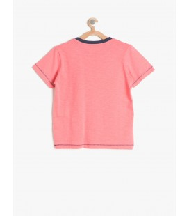 Koton Baskılı T-Shirt Pembe 7YKB16406OK909