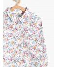 Koton Kız Çocuk Gömlek Pembe Kız Çocuk Çiçekli Gömlek 7YKG67534GWA04