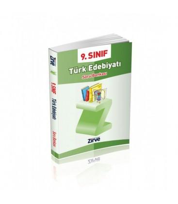 9.Sınıf Türk Edebiyatı Soru Bankası Zirve Dergisi Yayınları Lise