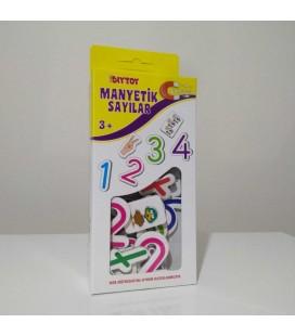 Diytoy Manyetik Sayılar - Yeni Model 51 Parça - 3 Yaş+
