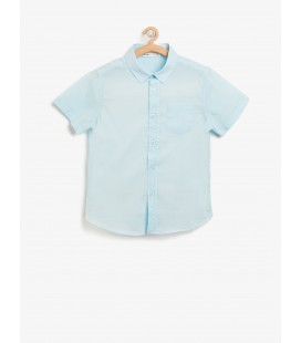 Koton Erkek Çocuk Gömlek Klasik Yaka 8YKB66458GW600