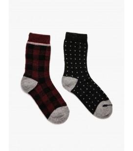 Koton Kadın Çorap 2'li 9KAK82160AA421