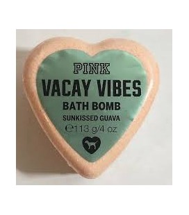 Victoria's Secret Bath Bomb Sunkissed Guava Banyo Tuzu