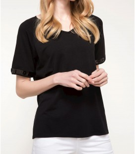 DeFacto Kadın Kısa Kollu T-shirt I4774AZ
