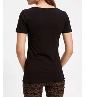 Defacto Kadın V Yaka Basic T-shirt I1073AZ