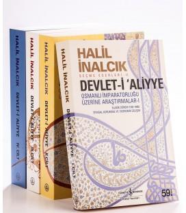 Halil İnalcık Devlet-i Aliyye Seti 4 Kitap - Prof. Dr. Halil İnalcık - TÜRKİYE İŞ BANKASI KÜLTÜR YAYINLARI