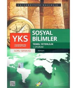 YKS 1. Oturum TYT Sosyal Bilimler Soru Bankası - FDD Yayınları