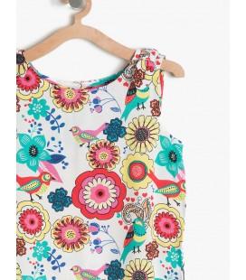 Koton Kız Çocuk Rahat Kesim Bluz Sarı 7YKG67288OW01I
