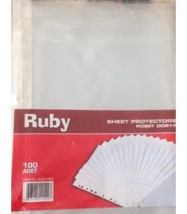 Ruby Poşet Dosya 100'lü Paket