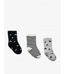 Koton 3'lü Erkek Çorap Lacivert 9KMB80070AA730