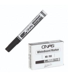 Onas Beyaz Tahta Kalemi 12´li Kutu NS-703 Siyah