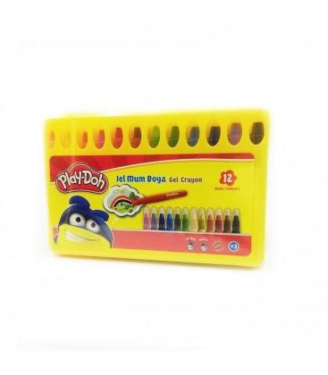 Play-Doh 12 Renk Jel Crayon - PLAY-CR014