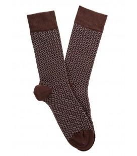 Lufian Erkek Çorap Gınger Melanj LF17WMSC010