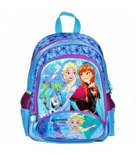 Hakan Çanta Frozen Üç Bölmeli Kız Çocuk İlkokul Sırt Çantası 95212