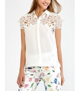İpekyol Kadın Kırık Beyaz Gömlek IW6170025025