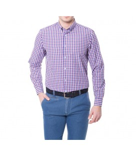 Karaca Erkek Slim Fit Casual Lacivert Gömlek 616304063
