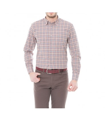 Karaca Erkek Regular Fit Casual Bej Gömlek 616304068