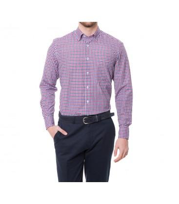 Karaca Erkek Regular Fit Casual Bordo Gömlek 616304032