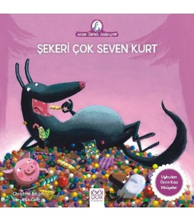 Şekeri Çok Seven Kurt - Christine Beigel - 1001 Çiçek