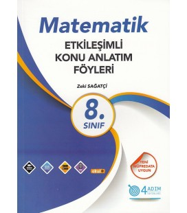 8. Sınıf Matematik Etkileşimli Konu Anlatım Föyleri - 4 Adım Yayıncılık