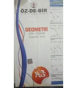 YGS Geometri Yaprak Test Özdebir Yayınları
