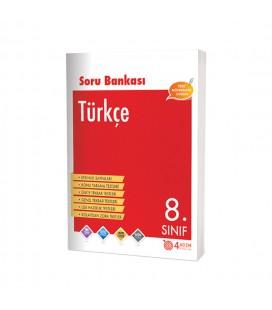 8. Sınıf Türkçe Soru Bankası 4 Adım Yayıncılık