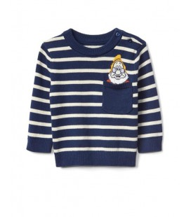 BabyGap Disney Baby Snow White and the Seven Dwarfs Çizgili Kazak 850080