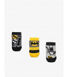 Koton Batman Baskılı 3'lü Çorap Siyah 9YBB81254AA999